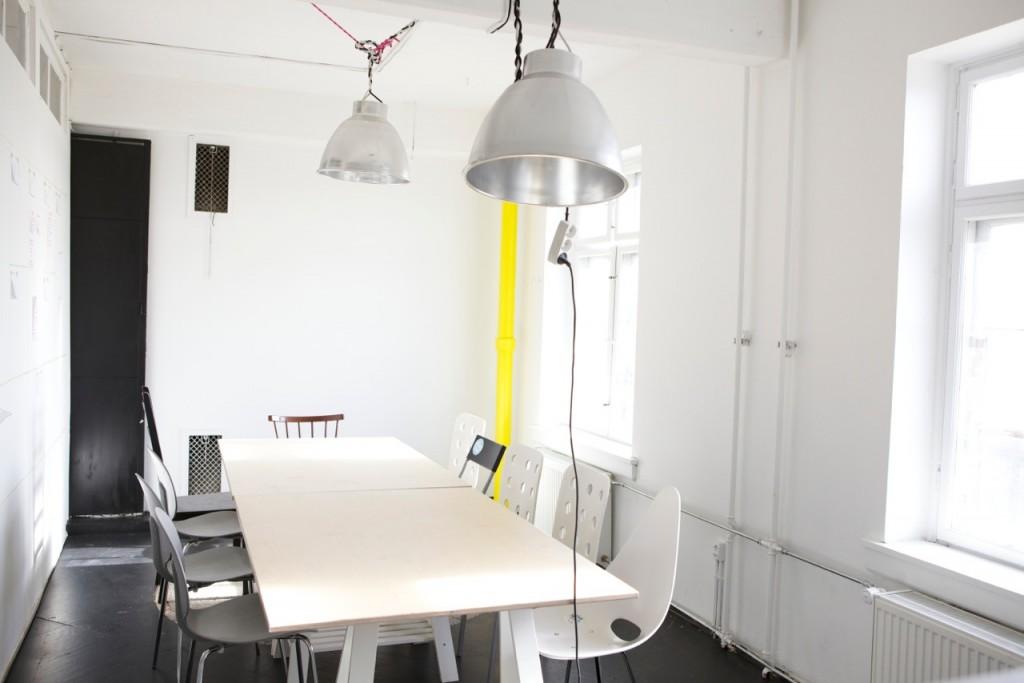 Copenhagen coworking space conference room